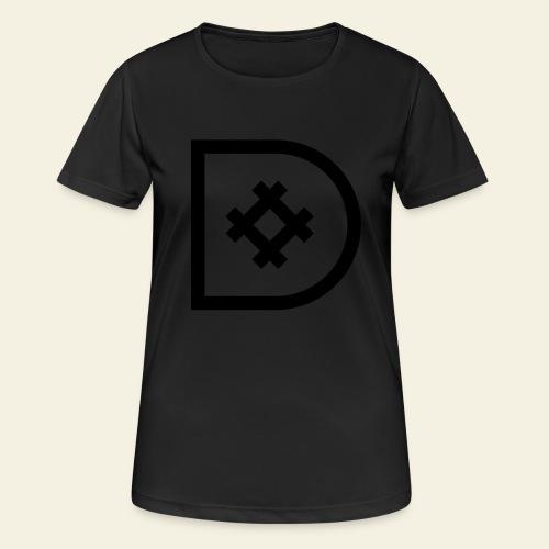 Icona de #ildazioètratto - Maglietta da donna traspirante