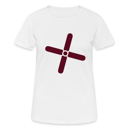 Break Even Plus - Dame T-shirt svedtransporterende