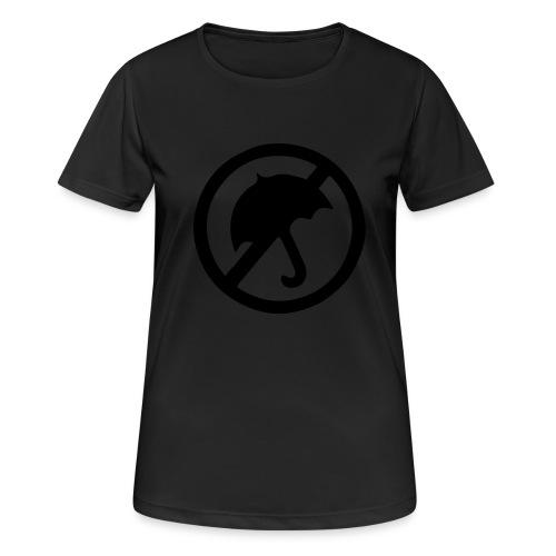 rainmakerlogo - naisten tekninen t-paita