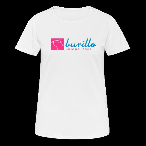 Burillo - Frauen T-Shirt atmungsaktiv