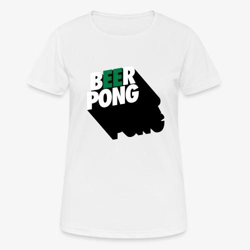 Beer Pong Vista - Frauen T-Shirt atmungsaktiv