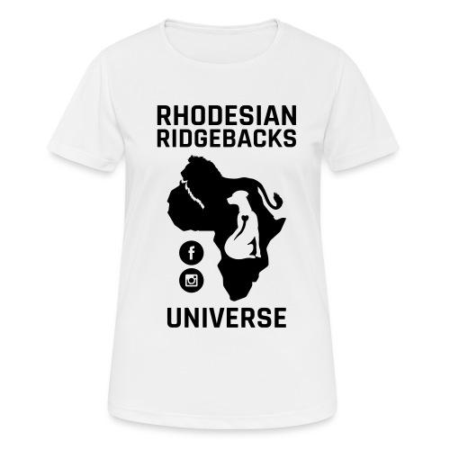 RRU - Andningsaktiv T-shirt dam