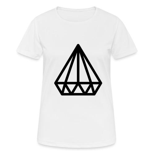 Dropchainers T-Shirt V Auschnitt - Frauen T-Shirt atmungsaktiv