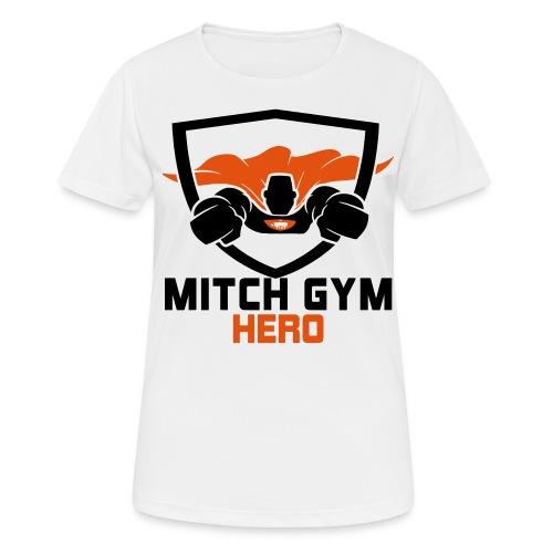 FLYING HERO - Vrouwen T-shirt ademend actief