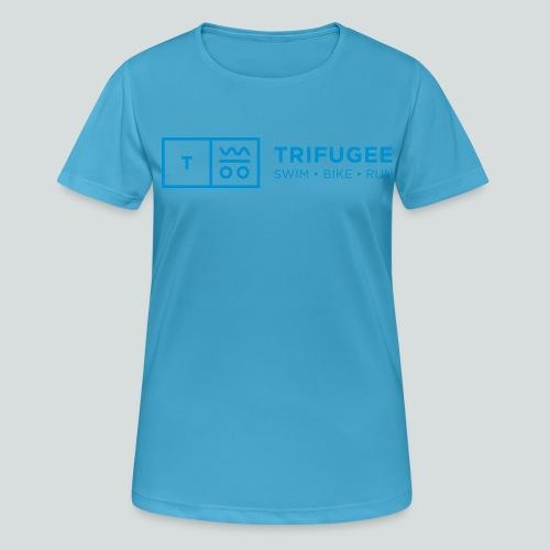 Trifugee_Logo - Frauen T-Shirt atmungsaktiv