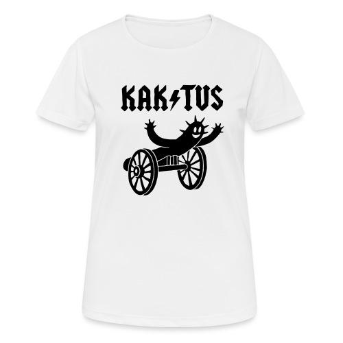 Kaktus Rock - Frauen T-Shirt atmungsaktiv