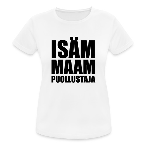 PuollustajaB - naisten tekninen t-paita