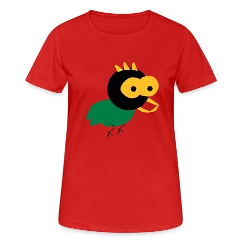 lintu-eps - naisten tekninen t-paita