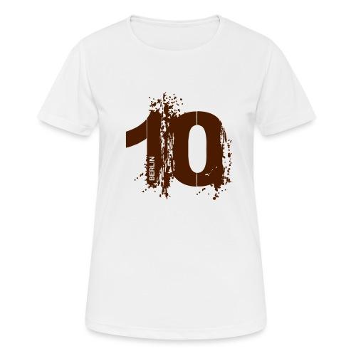 City 10 Berlin - Frauen T-Shirt atmungsaktiv