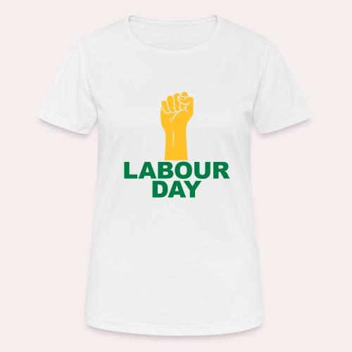 Día del trabajo / Puño en alto - Camiseta mujer transpirable