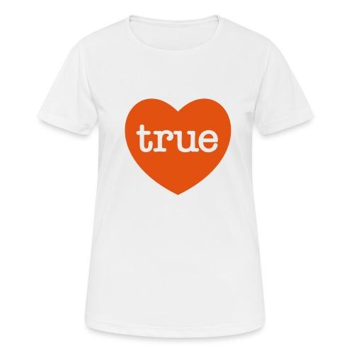 TRUE LOVE Heart - Women's Breathable T-Shirt