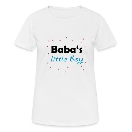 Baba's litte boy Babybody - Frauen T-Shirt atmungsaktiv