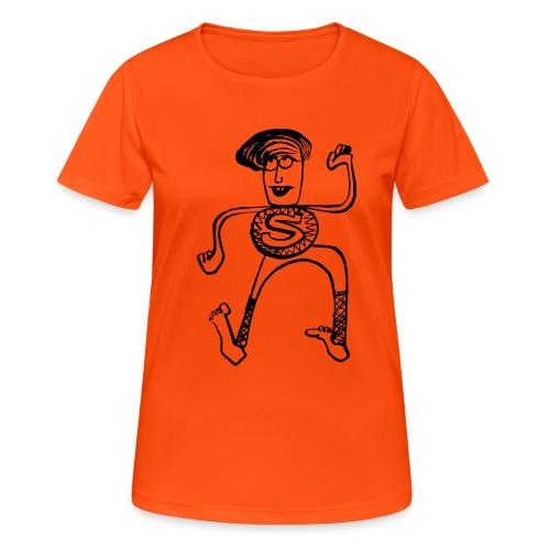 Super Pino - Maglietta da donna traspirante