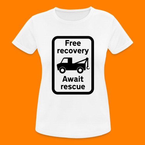 free recovery - Women's Breathable T-Shirt