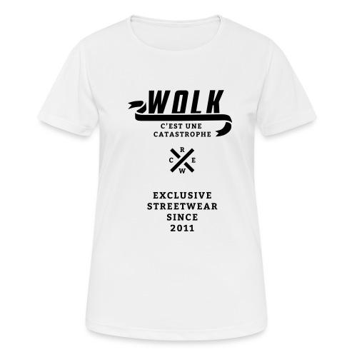 varsityx04 - Vrouwen T-shirt ademend actief