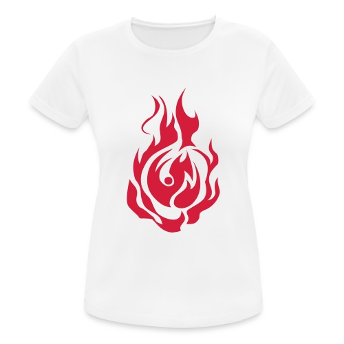 feu - T-shirt respirant Femme