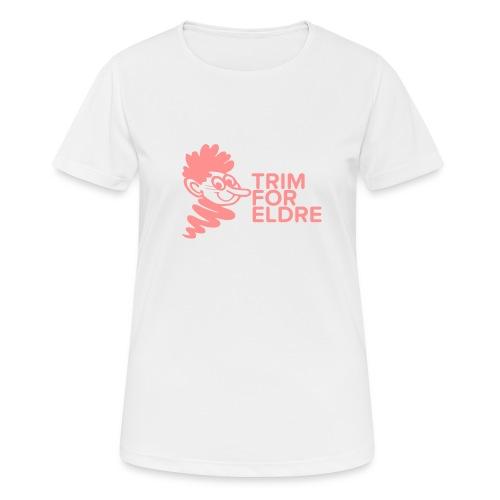 trim for eldre - Pustende T-skjorte for kvinner