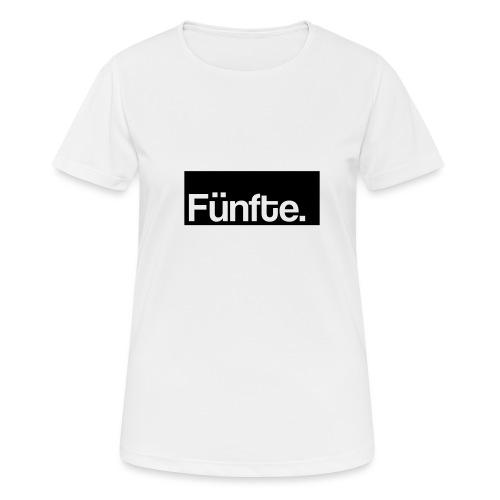 Fünfte. Boxed - Frauen T-Shirt atmungsaktiv