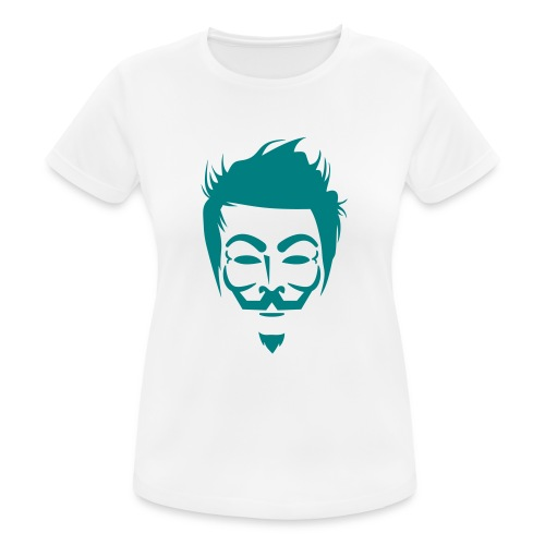 Anonymous Hipster - T-shirt respirant Femme
