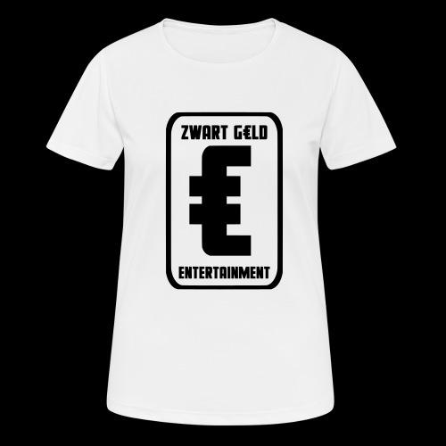 ZwartGeld Logo Sweater - vrouwen T-shirt ademend