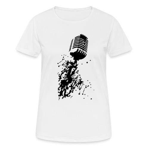 dirtymic - Vrouwen T-shirt ademend actief