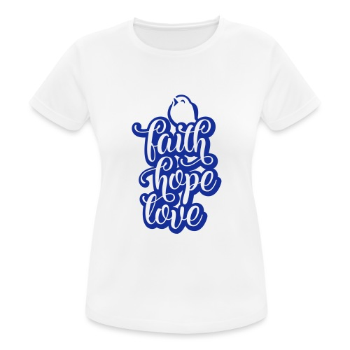 typo kinder 2016outline c - Frauen T-Shirt atmungsaktiv