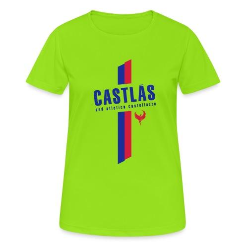 CASTLAS - Maglietta da donna traspirante