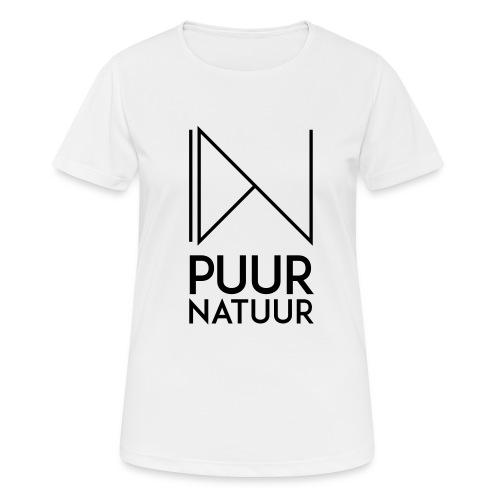 PUUR NATUUR FASHION BRAND - Vrouwen T-shirt ademend actief
