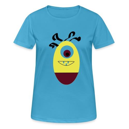 Gult æg - Dame T-shirt svedtransporterende