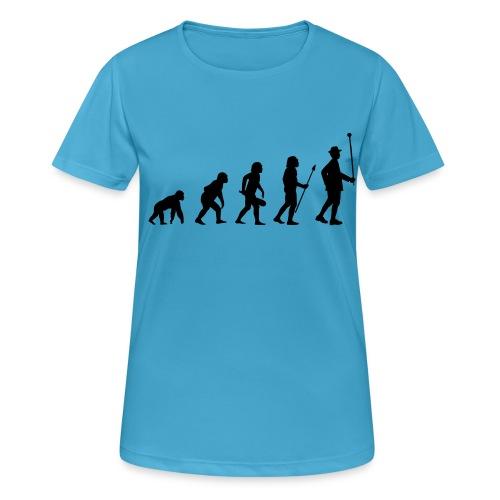 Stabführer Evolution - Frauen T-Shirt atmungsaktiv