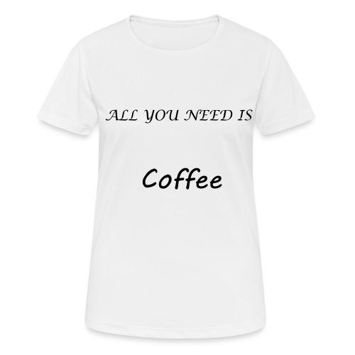 t-shirt café - T-shirt respirant Femme