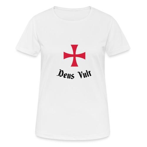 Deus Vult - Vrouwen T-shirt ademend actief