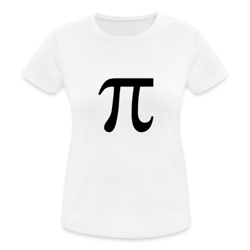pisymbol - vrouwen T-shirt ademend