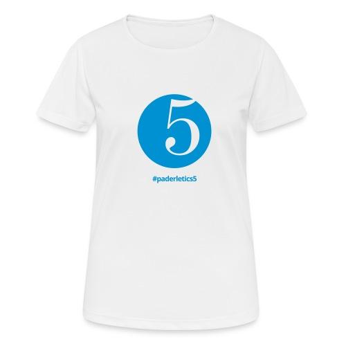#paderletics5 - Frauen T-Shirt atmungsaktiv