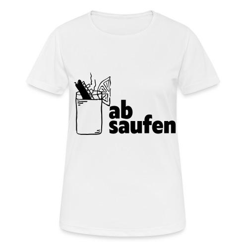 absaufen - Frauen T-Shirt atmungsaktiv