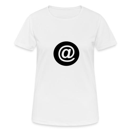 arroba_circulo - Camiseta mujer transpirable