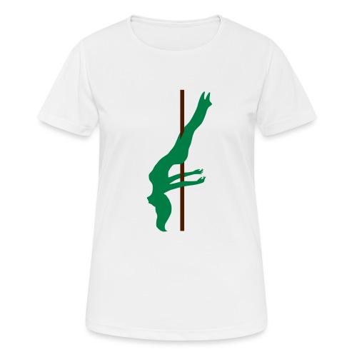 Pole Dance Pole Dancing - Maglietta da donna traspirante
