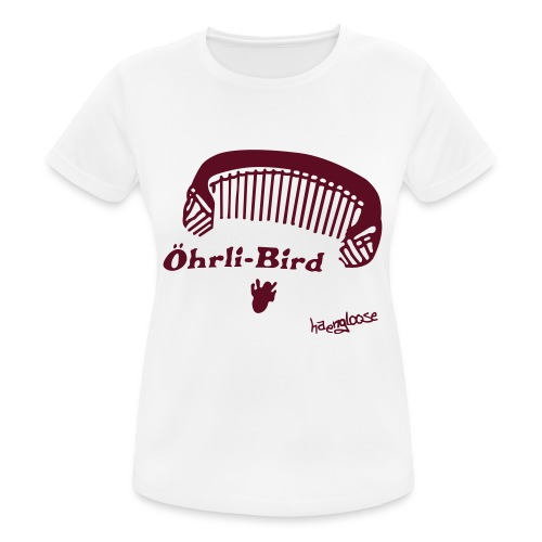 oehrlibird brown - Frauen T-Shirt atmungsaktiv