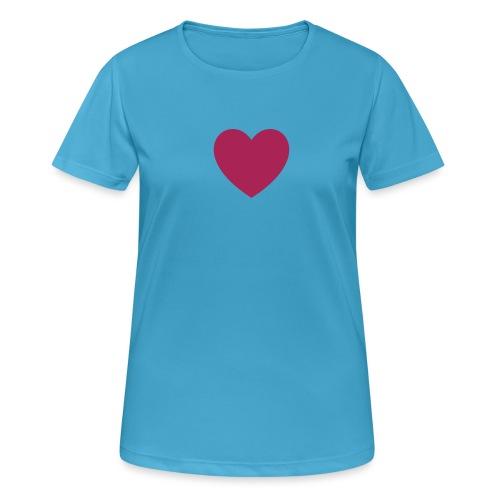 Herz FDP - Frauen T-Shirt atmungsaktiv