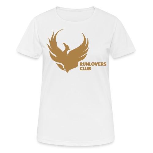 Runlovers Club - Maglietta da donna traspirante