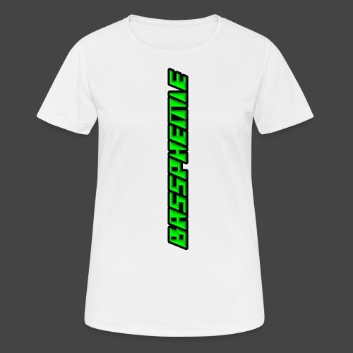 Bassphemie - Neongrün - Frauen T-Shirt atmungsaktiv