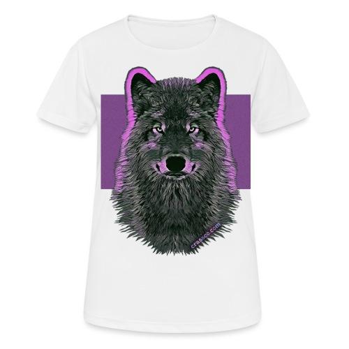 WOLF PINK IN LOVE - Frauen T-Shirt atmungsaktiv