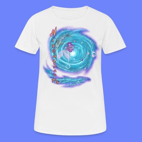 nixentraum - Frauen T-Shirt atmungsaktiv
