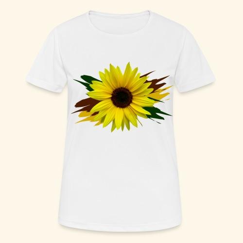 Sonnenblume, Sonnenblumen, Blume, floral, blumig - Frauen T-Shirt atmungsaktiv