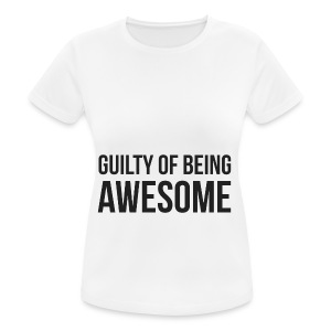 Guilty of being Awesome - Women's Breathable T-Shirt