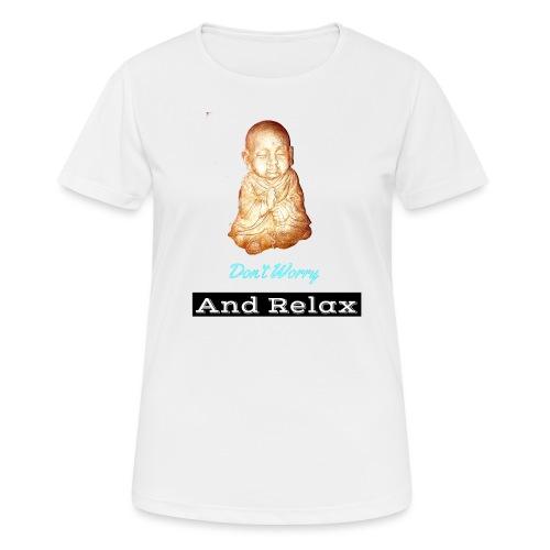 Monnik - Vrouwen T-shirt ademend actief
