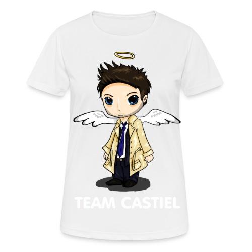 Team Castiel (dark) - Women's Breathable T-Shirt