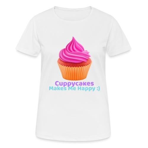 Cuppycake - Vrouwen T-shirt ademend actief