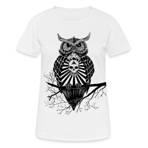 Hibou Psychédélique - T-shirt respirant Femme