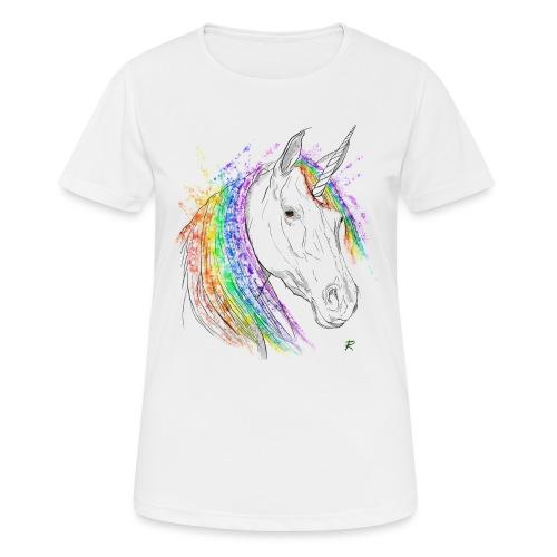 Unicorno - Maglietta da donna traspirante